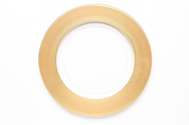 Where to find ROUND GOLD MATTE CHARGER in East Bay