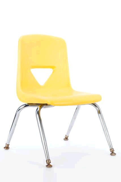 Where to find CHILDRENS CHAIR - YELLOW in East Bay