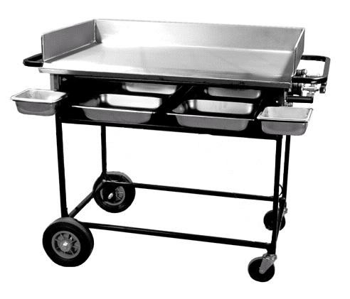 Where to find 20  X 36  GRIDDLE W CART  4 in East Bay
