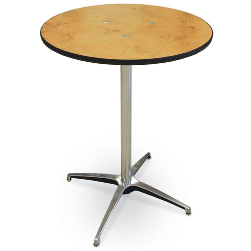 Where to find 30  RND PLYWOOD COCKTAIL TABLE in East Bay