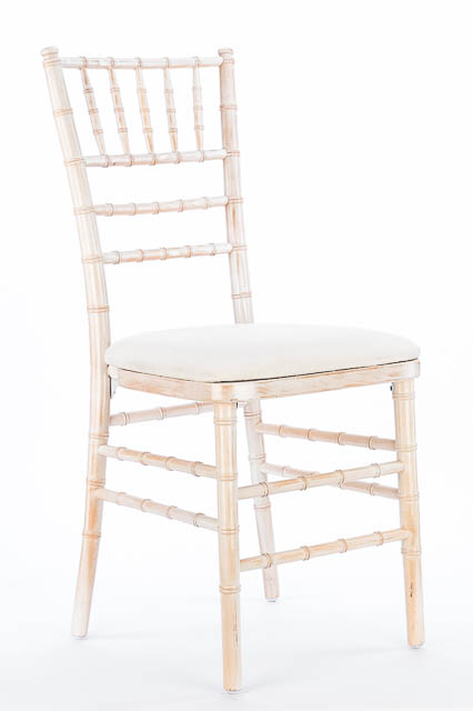 Where to find WHITE WASHED CHIVARI CHAIR in East Bay