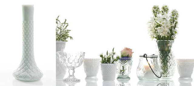Where to rent WHITE VINTAGE BUD VASE in San Ramon CA, Livermore CA, Pleasanton CA and Tri-Valley
