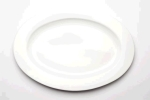 Rental store for 18  Oval White Ceramic Whittier Platter in East Bay CA