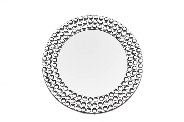 Where to find ROUND DIAMOND MIRROR CHARGER in East Bay