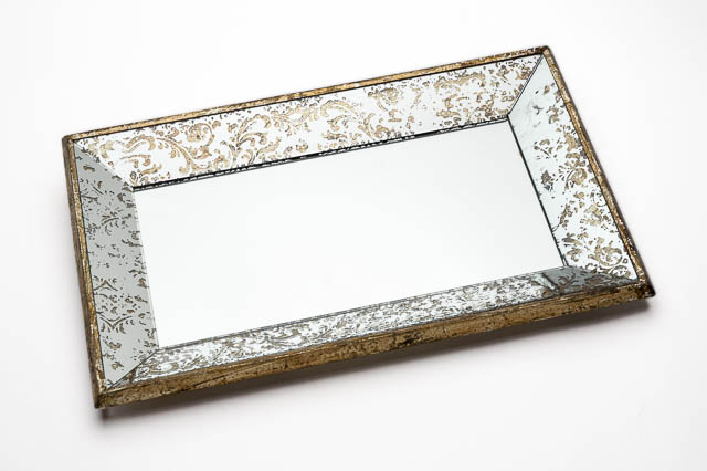 Where to find ANTIQUED MIRRORED TRAY in East Bay