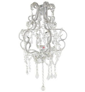 Where to find 14  CRYSTAL CHANDELIER WITH CRYSTALS in East Bay