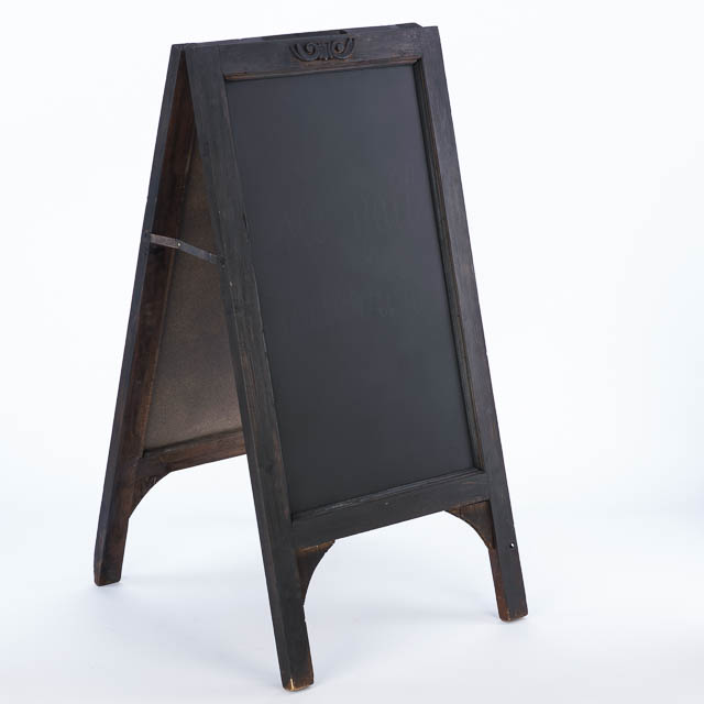 Where to find WOODEN FREE STANDING BLACKBOARD in East Bay