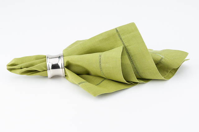 Where to find OLIVE LINEN HEMSTITCHED DINNER NAPKIN in East Bay