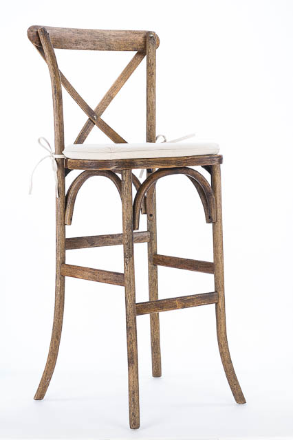 Where to find CROSS BACK HICKORY BAR STOOL in East Bay