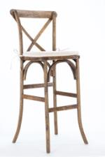Rental store for Cross Back Hickory Bar Stool in East Bay CA