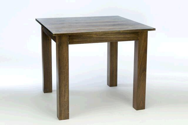 Where to find 36  SQUARE WOOD FARM TABLE in East Bay