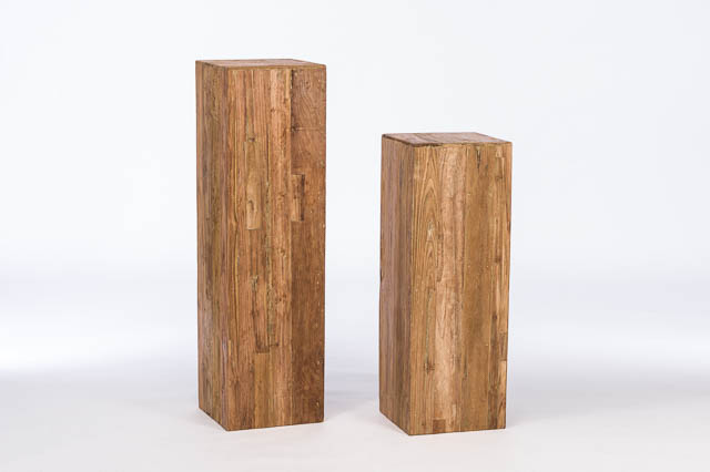 49 inch recycled teak column rentals east bay ca where to for Buy reclaimed wood san francisco