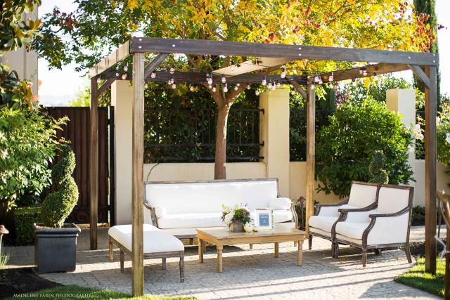 Where to find 11  D  x 10  W  x 8  T  WOOD CABANA in East Bay