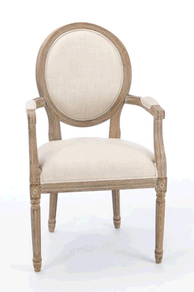 Where to find FRENCH COUNTRY CHAIR WITH ARMS in East Bay