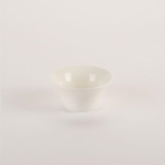 Rental store for 4.25   White Ceramic Flared Bowl in East Bay CA
