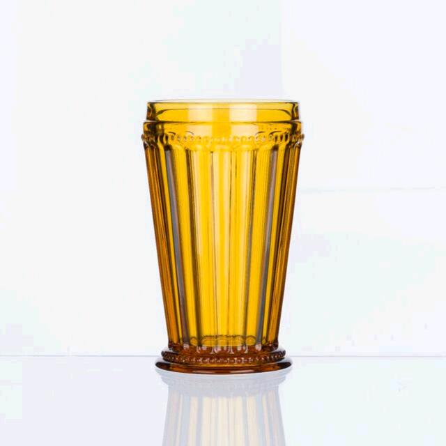 Where to find AMBER PRESSED GLASS TUMBLER in East Bay