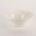Rental store for 10   White Ceramic Flared Bowl in East Bay CA