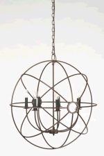 Rental store for 32  Wrought Iron Orb Chandelier in East Bay CA