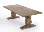 Rental store for 96  X 42  Rustico Distressed Table in East Bay CA