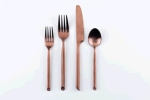 Rental store for Brushed Copper Flatware in East Bay CA