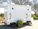 Rental store for Luxury 4 Stall  Restroom Trailer in East Bay CA