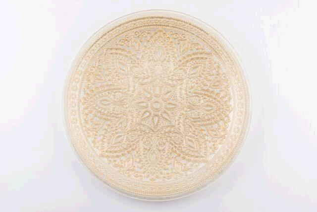 Where to find ROUND GOLD DIVINITY CHARGER in East Bay