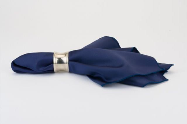 Where to find NAVY LAMOUR MATTE SATIN NAPKIN in East Bay