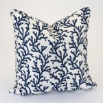Rental store for 24  Navy Coral Reef Decor Pillow in East Bay CA
