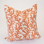 Rental store for 24  Pumpkin Coral Reef Decor Pillow in East Bay CA