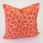 Rental store for Orange Dahlia 20  Decor Pillow in East Bay CA