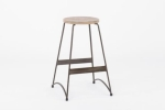 Rental store for Edison Metal Bar Stool W wood Seat in East Bay CA