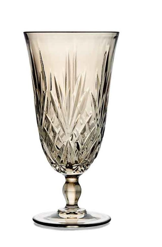 Where to find SMOKE PRESSED GLASS GOBLET in East Bay